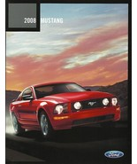2008 Ford MUSTANG sales brochure catalog 08 US SHELBY GT 500 - $8.00