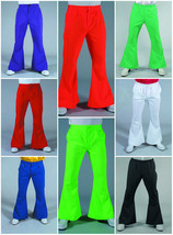 "70's Gentleman's Flared Trousers - 28-44"" waist , 8 color options - $22.06"