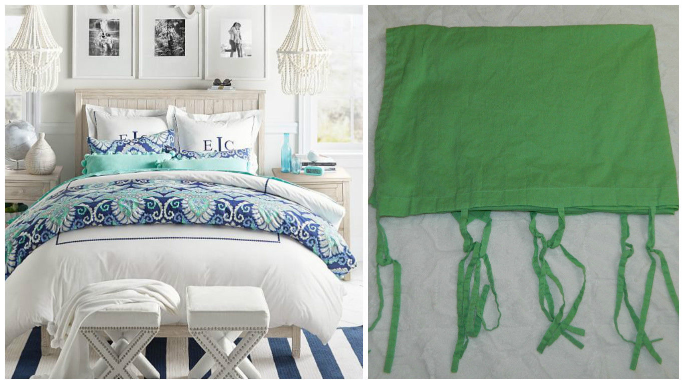 Pottery barn silk curtains - Pottery Barn Pb Teen Set Of 2 Curtain Panels Lime Green 40 X 63 Drapes 44 54