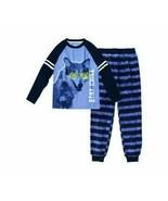 Wonder Nation Boys Sleepwear Shirt & Pants X-Small (4-5) Wolf Glows In D... - $15.83