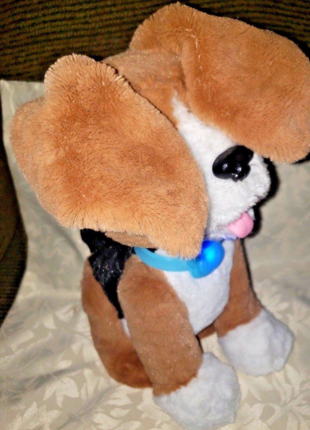 FurReal Friends Chatty Charlie The Barkin' Beagle Interactive Plush Dog Pet image 5