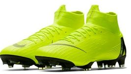 NIKE MERCURIAL SUPERFLY 6 PRO FG VOLT/BLACK SIZE 8.5 BRAND NEW (AH7368-701) image 3