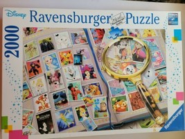 Ravensburger Disney Stamp Album - 2000 Piece Puzzle in perfect conditions - $42.57