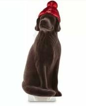 Bath & Body works Chocolate Lab Dark Brown Dog with Hat Wallflower Plug-... - $14.16