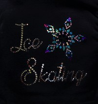 Mondor Modl 24487 Skating Vest with Sequin applique - Ice Skating - Blac... - $95.00