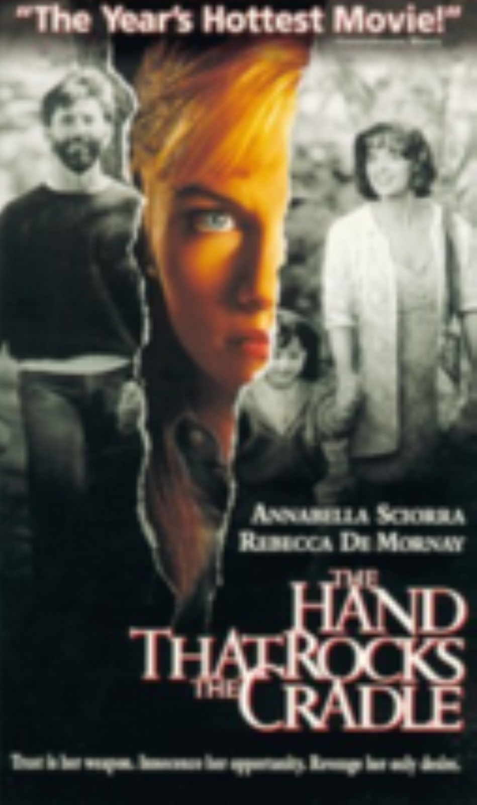 Hand That Rocks Cradle Vhs