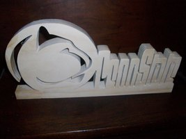Penn State Wood display  - $20.00