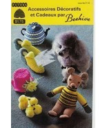 Knit Crochet French Patterns Dog Coat Tea Cosy Socks Slippers Toys - $3.93