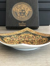 Versace by Rosenthal Porcelain Dish Barocco Original Box 14 cm / 5.51 in... - $90.00