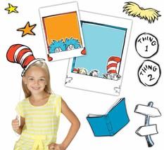 Eureka's Back to School Dr. Seuss Cat in the Hat Selfie Classroom Decora... - $21.84