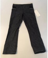 New $92 Lululemon Ride On Crop Yoga Pants Tights Size 8 - $67.64
