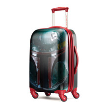 """American Tourister Star Wars Boba Fett 20"""" Carry On Spinner Luggage 7570... - $139.99"""