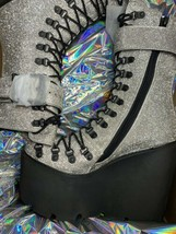 Wut? sickening CRYSTAL TRAITOR BOOTS SIZE 10 IN HAND! Ships Today!