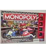Monopoly Gamer Mario Kart Board Game 2018 (Italian) - $33.00
