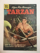 Tarzan #94 Dell Photo Cover Comic 1957 Silver Age - $14.20