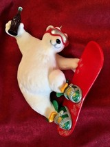 Hallmark Keepsake Ornament Cool Sport Coca-Cola Coke Polar Bear Snowboar... - $14.01