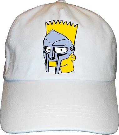 BS MF Bart Doom Dad Hat Cap hip-hop 58dc8ff91c83