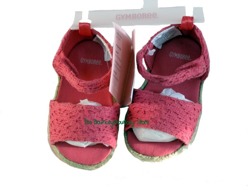 new Gymboree Butterfly Spring Layette Sandals Sz 2