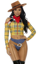 Forplay Playtime Sheriff Toy Story Woody Adulto Mujer Disfraz Halloween ... - $71.54