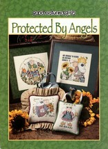 Good-Natured-Girls Protected By Angels Cross Stitch Leaflet 24511 - $7.50