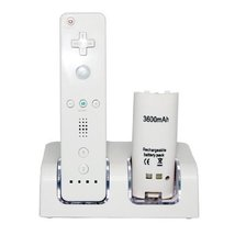 Nintendo Wii Compatible Controller Dock with 2800mAh Rechargeable Batter... - $83.48