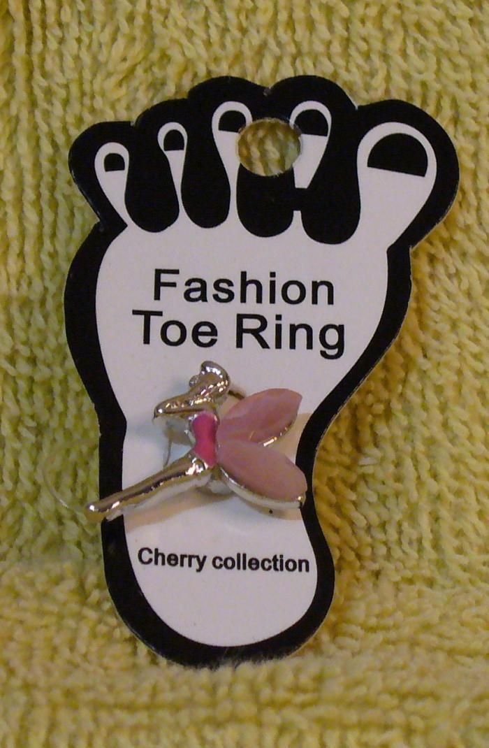 PINK FAIRY Toe Ring
