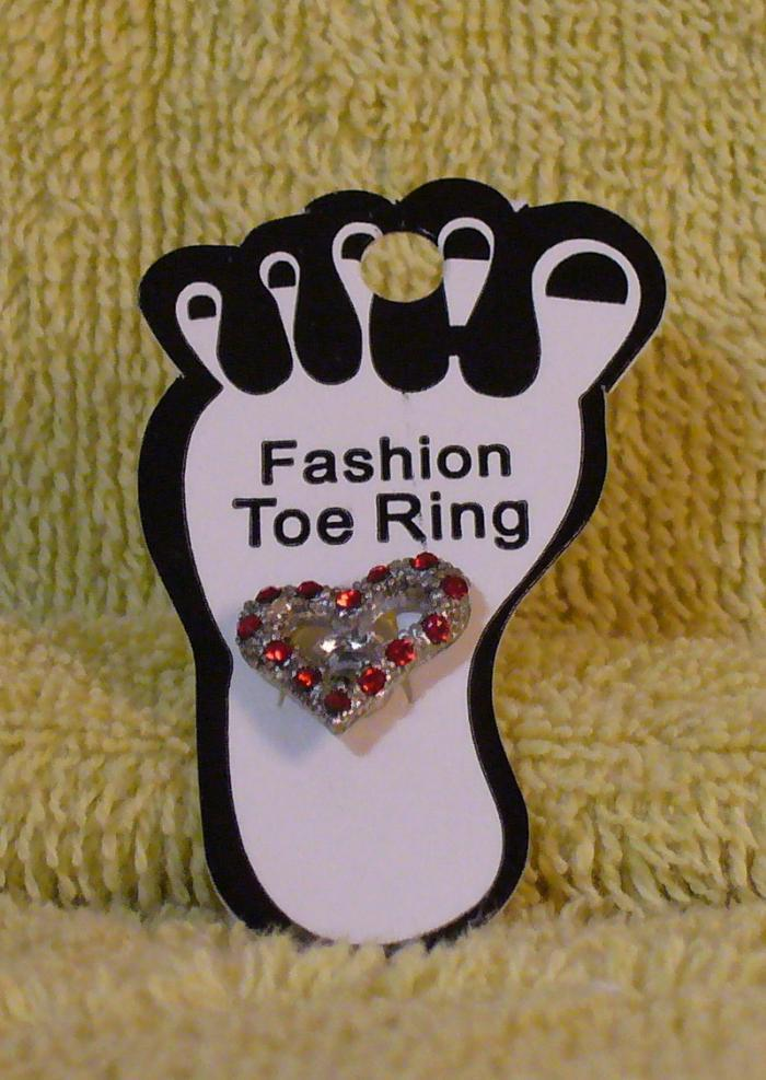 RED HEART Toe Ring