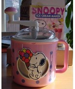 Peanuts Snoopy Vintage Donvier Ice Cream Maker - $28.99