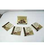 "Vintage "" Coffee After My First Cup..."" set of 4 coasters with stand - $20.00"