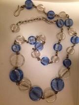 Artisan Handmade Italian Murano Glass and Metal Convertible Necklace / Belt - $195.00