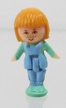 Polly Pocket Vintage Doll 1989 Midge's Bumper Car Ring (Yellow)- Midge - $7.50