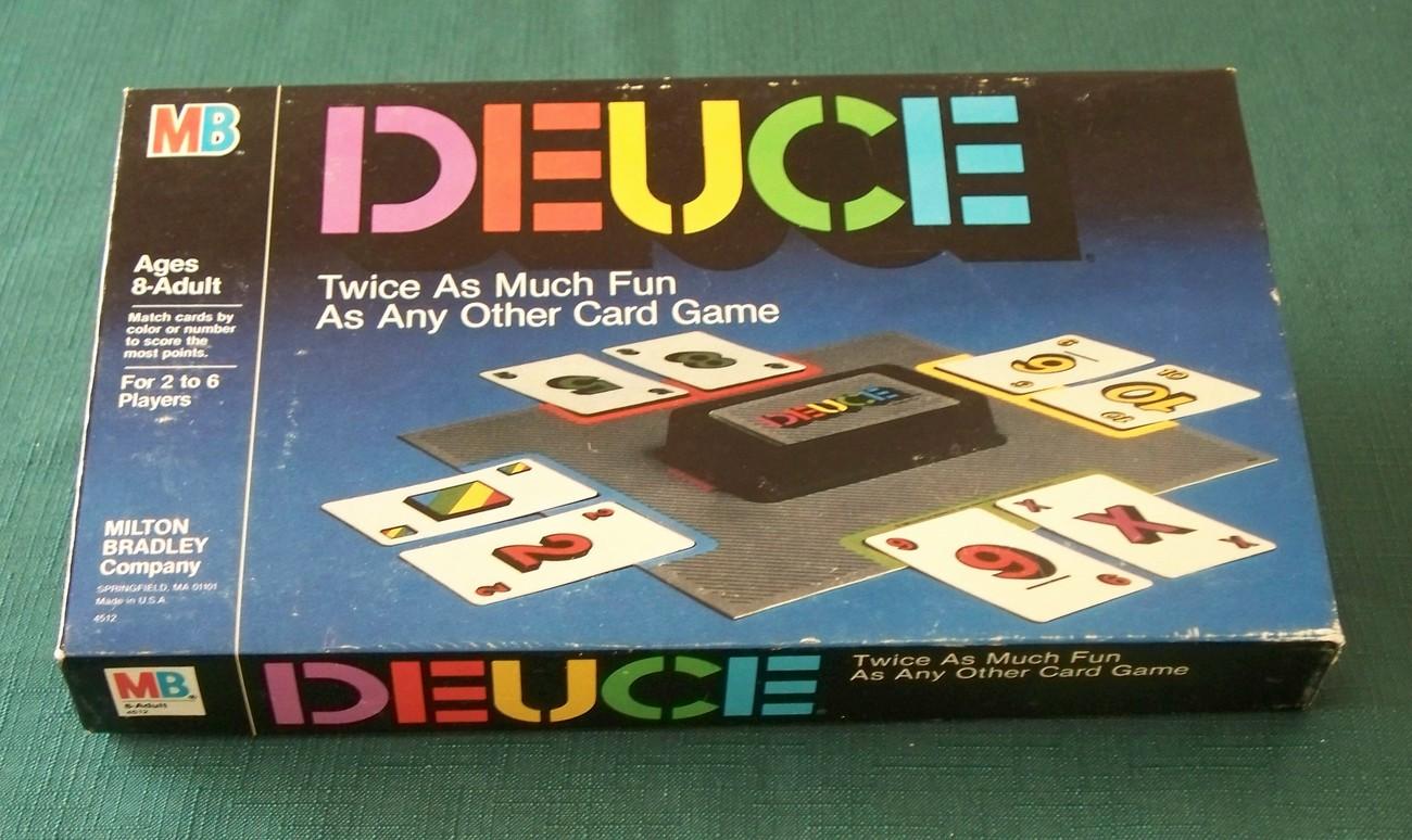 Deuce Card Game Milton Bradley 1985 Complete VGC - $9.00