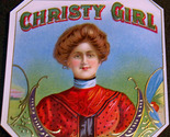 Christy girl out cigar label 001 thumb155 crop