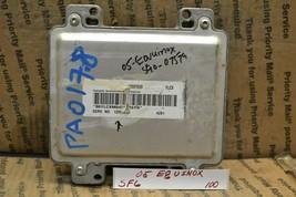 2005 Chevrolet Equinox Engine Control Unit ECU 12591279 Module 100-5F6 - $12.99