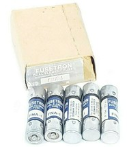 BOX OF 5 NEW COOPER BUSSMANN FUSETRON FNA-1 DUAL-ELEMENT FUSES FNA1
