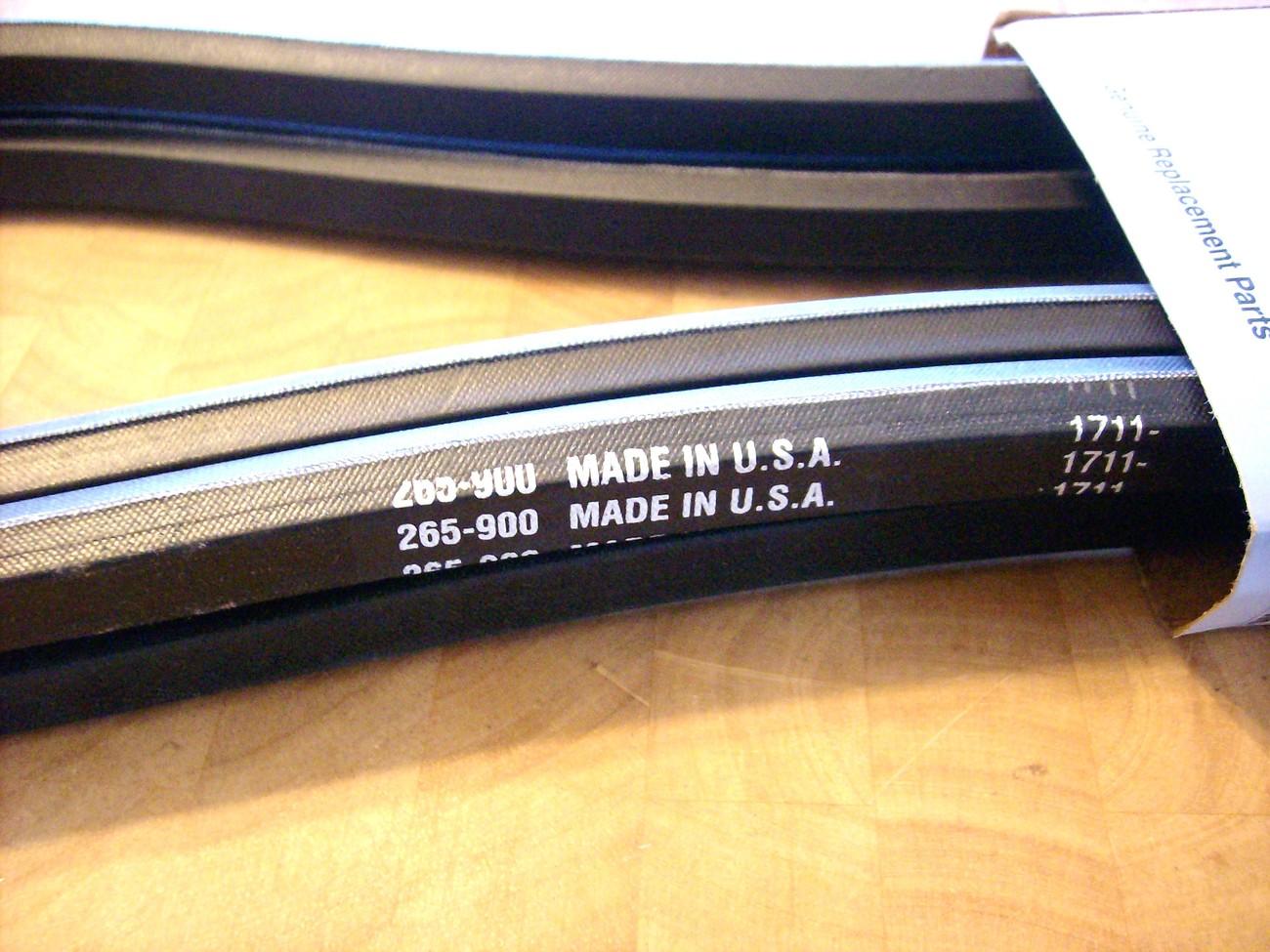 Toro Groundmaster 580D main drive belt 69-6220 / 93-8457