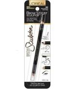 LOREAL Brow Stylist SCULPTO 3-in-1 Brow Tool 365 DARK BRUNETTE FRESH STOCK - $7.95