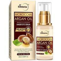 StBotanica Moroccan Argan Oil Firming & Illuminating Under Eye Serum, 25ml - For image 5