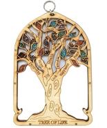 Tree of Life rustic wood ornament Israel sacred kabbalah Judeo-Christian... - £27.92 GBP