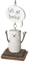 Midwest-CBK Toasted S'Mores Let's Get Toasted! Christmas/Everyday Ornament - $12.95