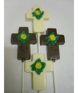 Cross with Flower Lollipops - $18.00