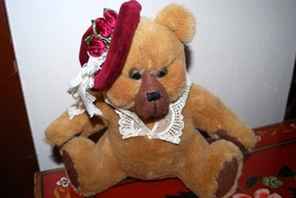 Vintage Heartfelt Collectibles Brown Teddy Bear... - $11.95