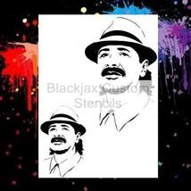Santana Set Airbrush Stencil,Template - $10.99