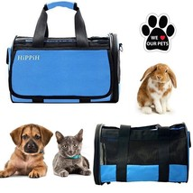 Pet Carrier for Dogs And Cats With 2 Doors And Removable Bed - $29.26