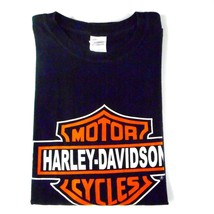 Men's T Shirt XL Harley Davidson I built the Shop in Shallotte NC Black ... - $14.01