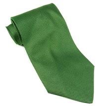 EMILIO ROMANO Mens Textured Silk Tie Micro Dot Pattern Made in Italy Lim... - $15.00