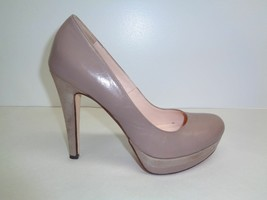 Charles David Size 9.5 M DONATI Taupe Leather New Womens Heels Pumps Shoes - $117.81