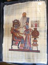 GENUINE ORIGIONAL CULTURAL EGYPTION PAINTINGS ON PAPYRUS - $105.00