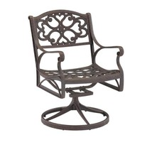 Biscayne Bronze Swivel Patio Dining Chair - £131.09 GBP