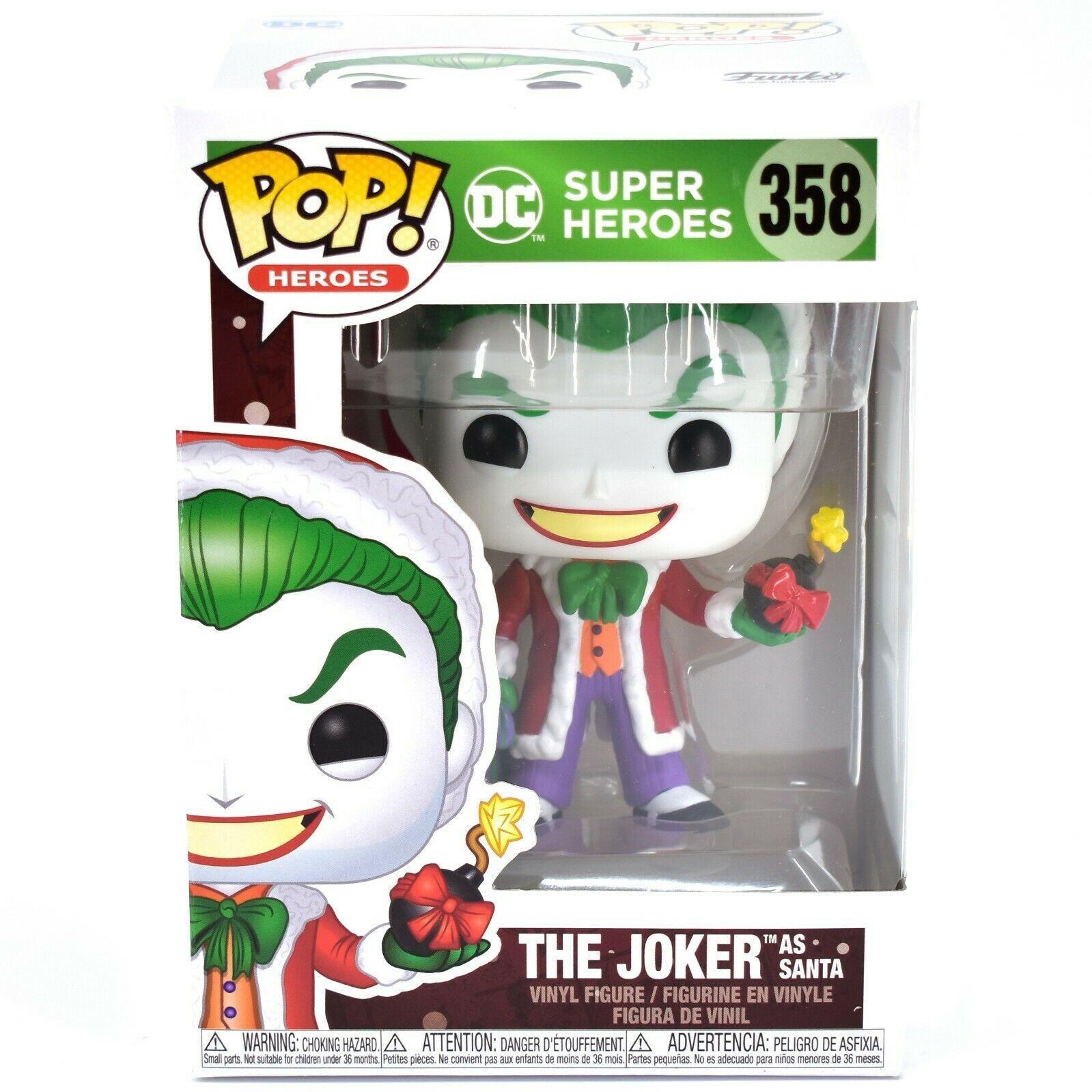 Funko Pop! DC Super Heroes Joker as Santa #35 Christmas Holiday Vinyl Figure